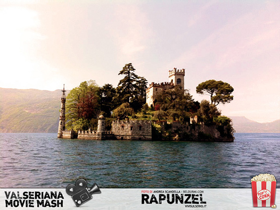 l'isola di loreto, simile alla location di disney's rapunzel