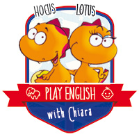 playenglish with chiara, hocus e lotus: i dinocrocs!
